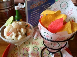 Lunch at Señor Frogs